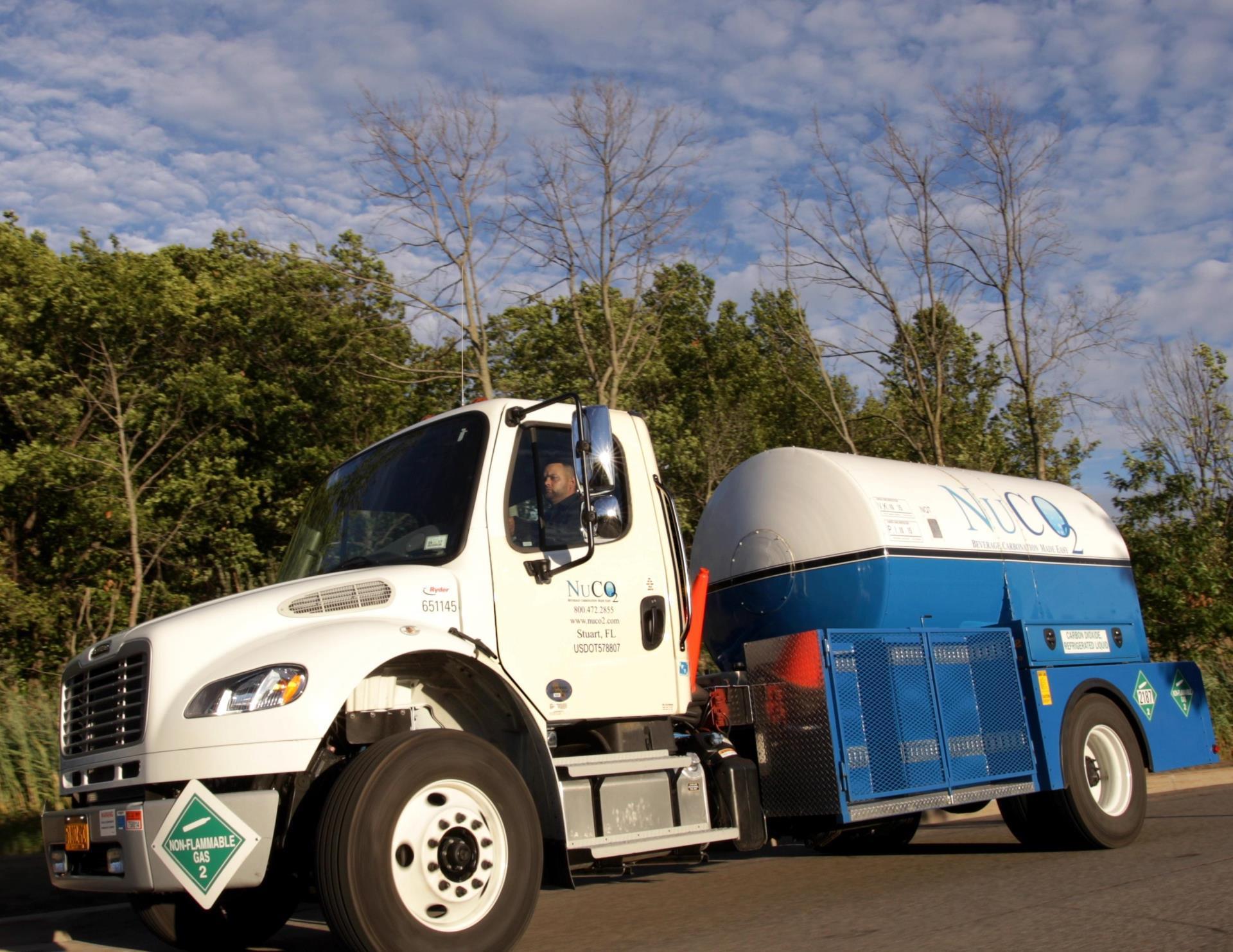 Corporate Heritage Year 2013 - NuCO2 Truck