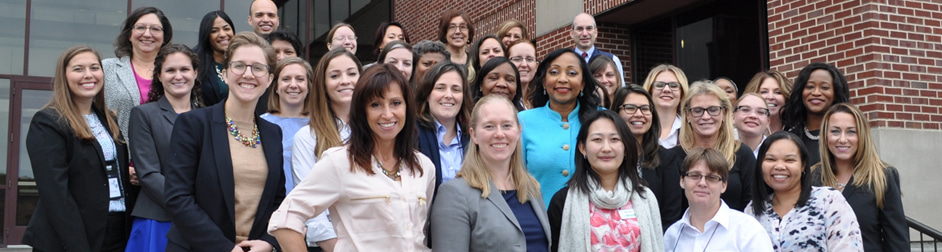 Men and women diverse group of employees