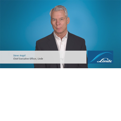 Steve Angel, Chief Executive Officer, Linde
