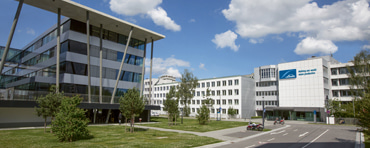 Linde Office Center and Linde Engineering building in Pullach near Munich, Germany