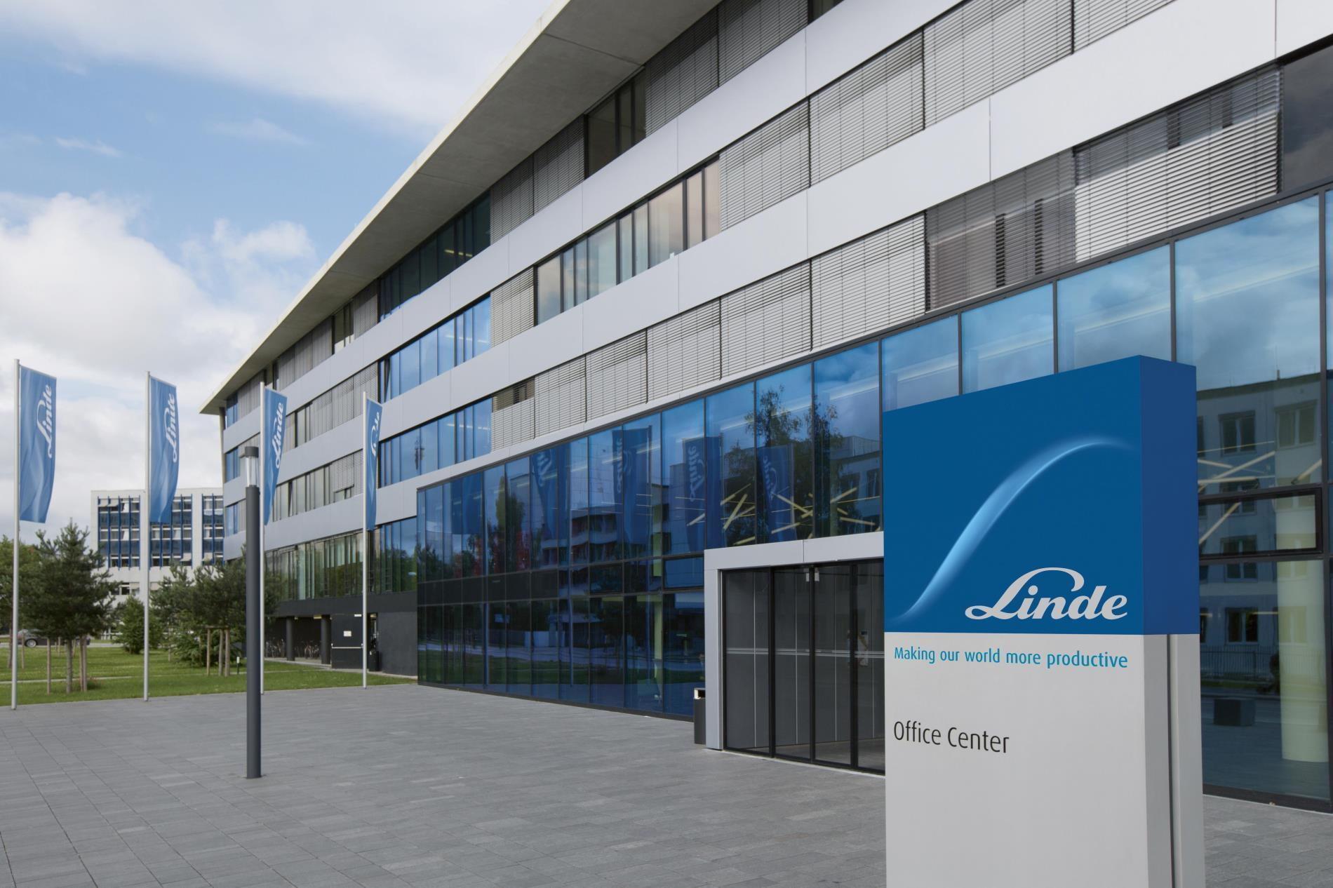 Linde Office in Pullach near Munich Germany