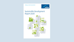 Sustainable Development Report Cover