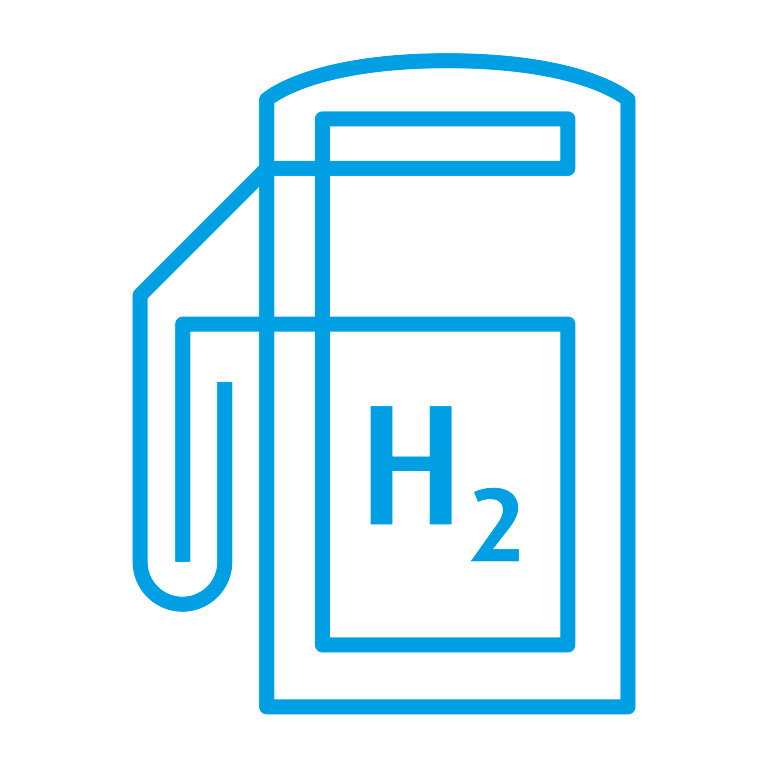Hydrogen Refueling Stations Icon
