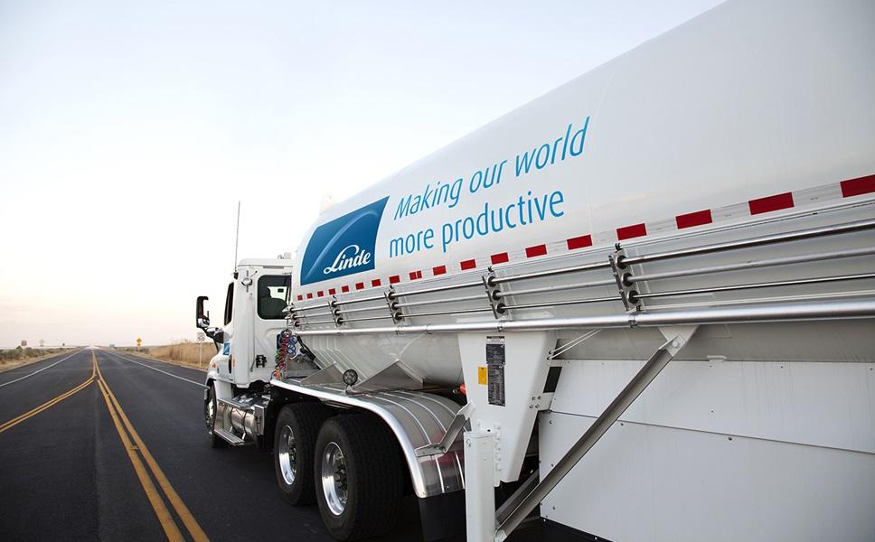 Linde Bulk Delivery Truck