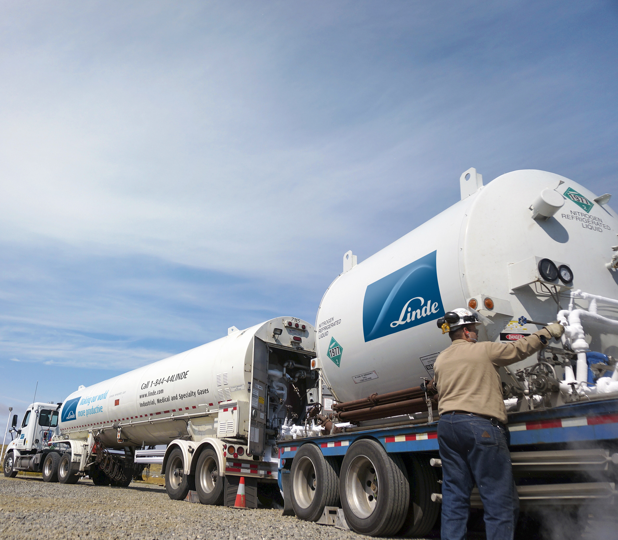 Nitrogen pumping services