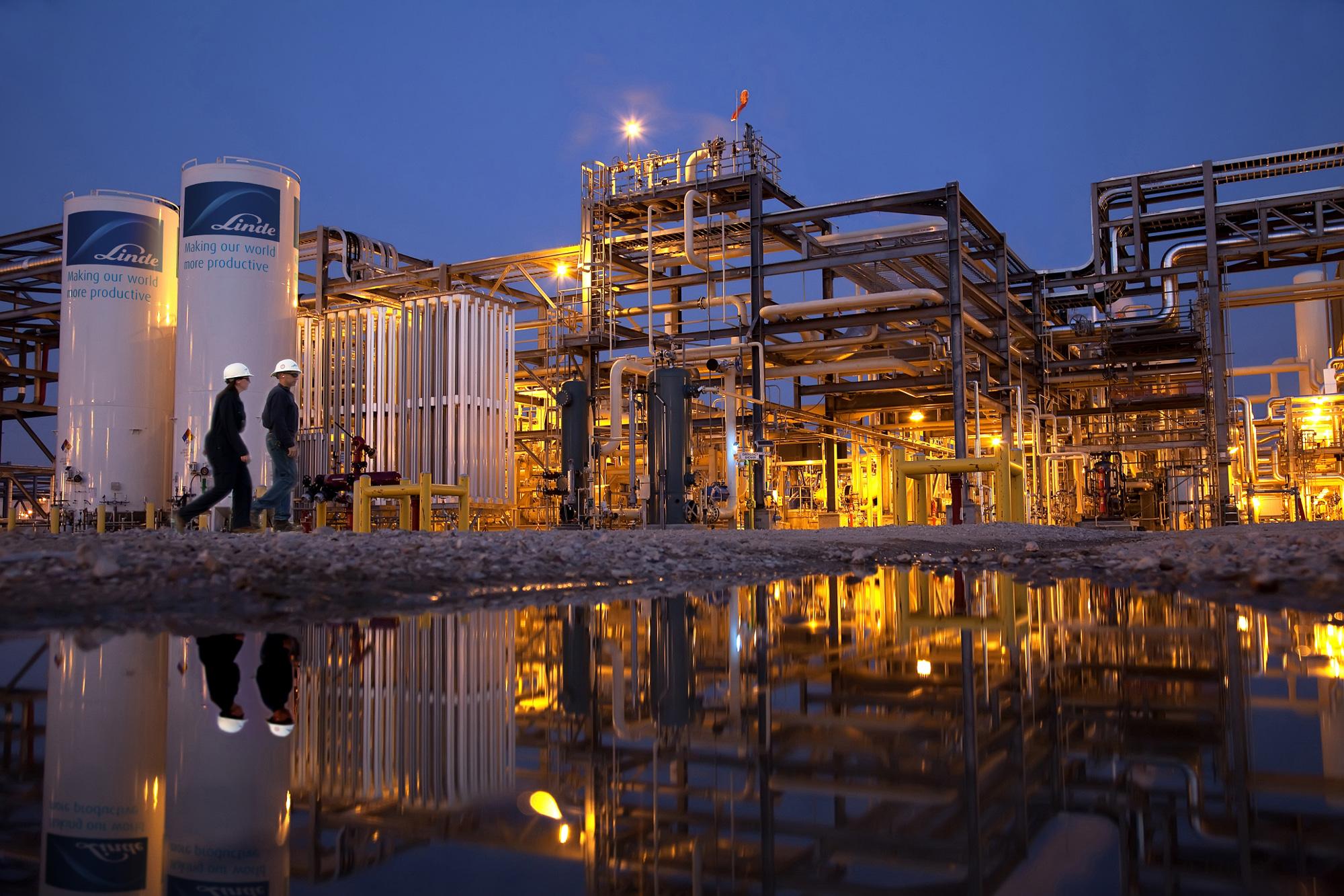 Hydrogen refinery in Valero, Texas