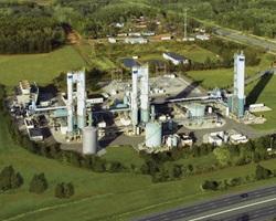 ASU plant cryo towers